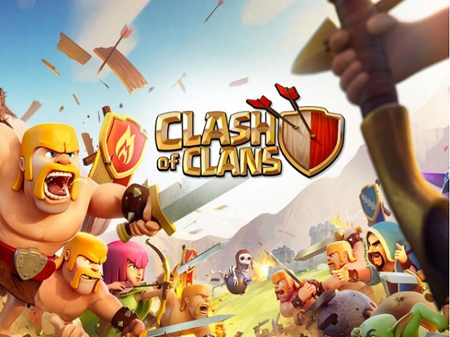 Tựa game Clash of Clans
